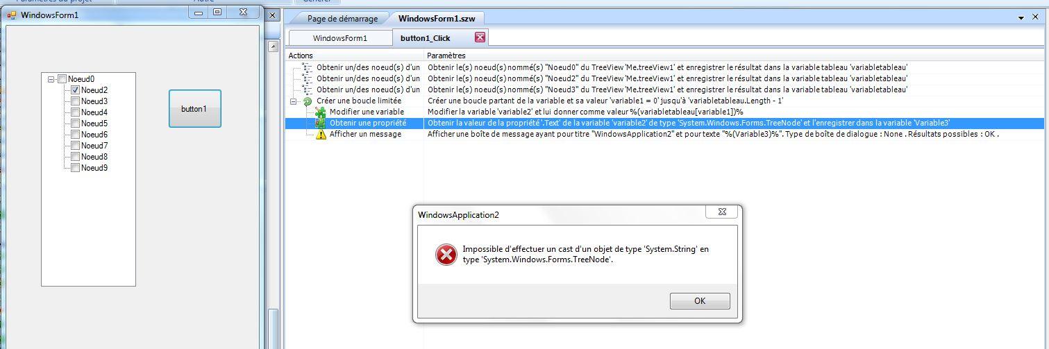 [RESOLU] Utilisation du tableau de variable récupéré apres obtention des noeuds. Systemestring